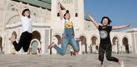 إقبال متزايد للسياح الصينيين على المغرب بعد الإعفاء من التأشيرة