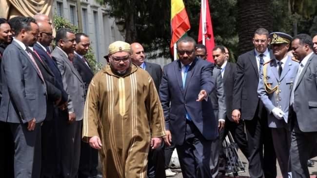 تطورات جديدة بين المغرب وإثيوبيا بعد زيارة الملك محمد السادس