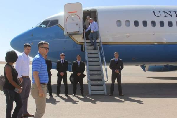 التقى مسؤولين محليين وجمعيات تابعة لبوليساريو .. وفد من الكونغرس الأمريكي يزور الصحراء