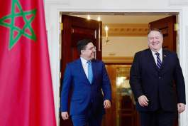"""المغرب يعمل مع أمريكا على """"التصدي للتأثير الضار"""" لإيران"""