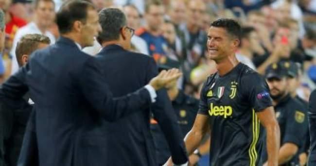 طرد رونالدو في أول مباراة له في إسبانيا مع يوفنتوس