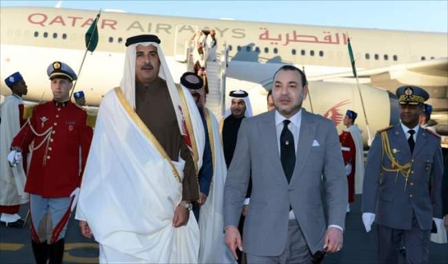 صحيفة : أمير قطر طلب عقد لقاء سري بطنجة لحل الأزمة الخليجية ولكن الملك رفض