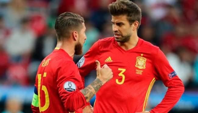 راموس يكشف لبيكيه آخر التطورات الجنونية في ريال مدريد