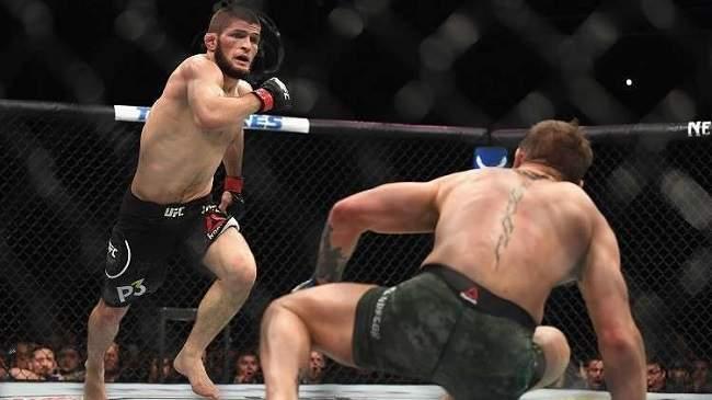 شاهد.. المقاتل حبيب نورمحمدوف يدعو أسطورة الملاكمة إلى نزال القرن