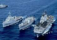 سفن حربية مغربية تشارك في تمرين عسكري مشترك مع تسعة دول أخرى