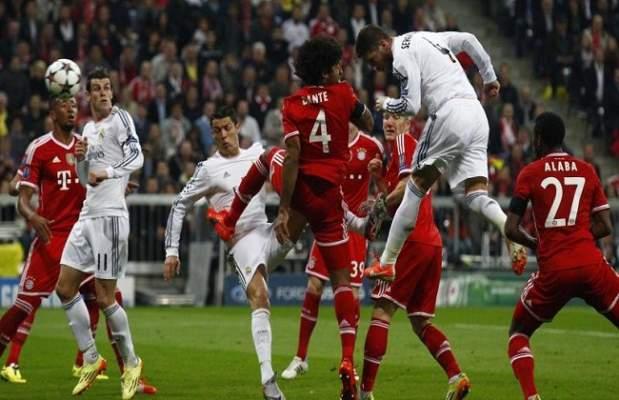 اختباران حاسمان لبايرن ميونيخ وريال مدريد في دوري أبطال أوروبا