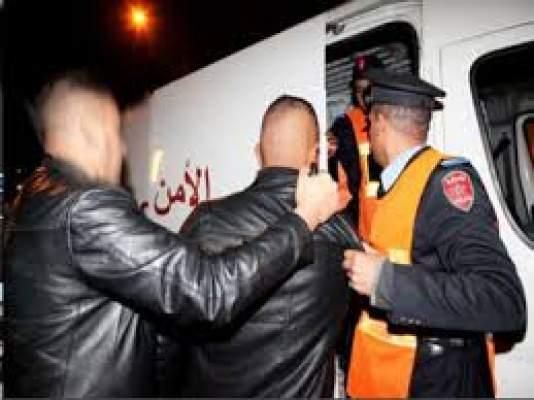اعتقال 12 جزائريا مرتبطين بشبكة إجرامية في مدينتي وجدة وبركان