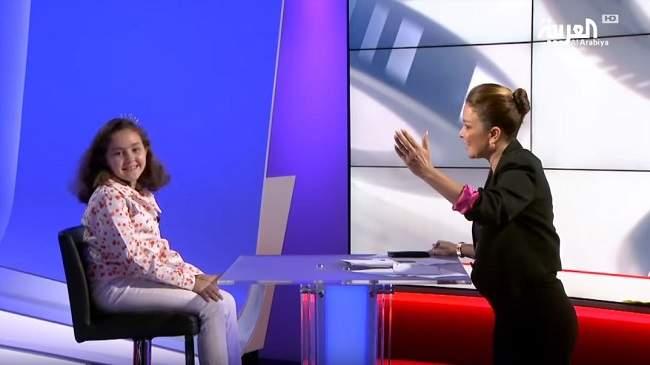 ماذا قالت الطفلة المغربية بطلة تحدي القراءة في استوديو العربية؟