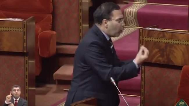 """الخلفي """"محيح"""" في البرلمان ويتهم نواب بإقتراف جريمة"""