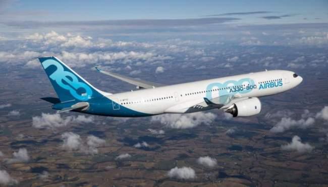 طائرة إيرباص A330-800 تكمل تجربتها الاختبارية الأولى