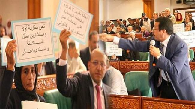 """مستشار بمجلس الرباط يرد على """"هجوم"""" حامي الدين"""