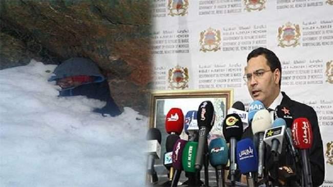 الحكومة: لهذا فشلت محاولة إنقاذ راعي الغنم من الموت تحت الثلج