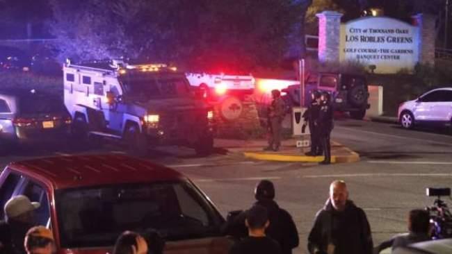 مقتل 12 شخصا في هجوم مسلح على حانة بولاية كاليفورنيا الأمريكية