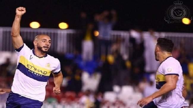 أمرابط يواصل التهديف ويقود النصر السعودي إلى انتصار هام (+فيديو)
