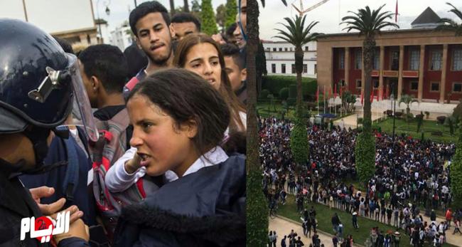 تجاوزات خطيرة لتلاميذ من الرباط وسلا احتجاجا على الساعة الإضافية