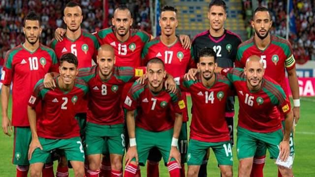 التشكيلة الرسمية للمنتخب الوطني المغربي ضد الكاميرون
