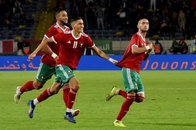 المنتخب المغربي يسجل فوزا تاريخيا على الكاميرون بهدفين لصفر