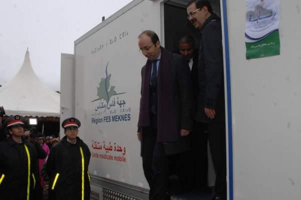 وزير الصحة يطلق برنامج رعاية من افران لمساعدة المتضررين من موجة البرد
