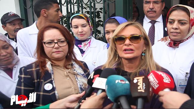"""يسرا ل""""الأيام24"""": الملك له وعي كبير بمحاربة السيدا في المغرب"""