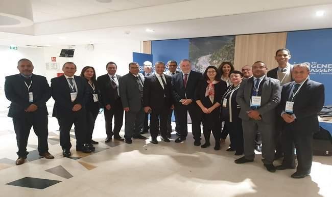 انتخاب عبد الرحيم الحافظي محافظ للمجلس العالمي للمياه بفرنسا