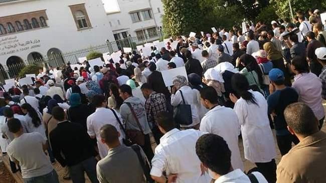 مسيرات احتجاجية جديدة للأساتذة المتضررين من الحركة الانتقالية