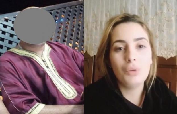 """فتاة الفيديو الجنسي مع """"راقي بركان"""" تخرج بوجه مكشوف وتفجر حقائق مثيرة"""