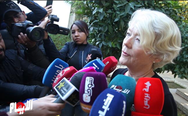 """فيديو: أول تصريح لسفيرة النرويج بعد أحداث """"شمهروش"""" الإرهابية"""