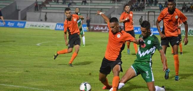 البطولة الاحترافية: نهضة بركان يتعادل بميدانه مع الدفاع الحسني الجديدي