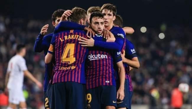 برشلونة يتخلى على المغربي منير الحدادي!