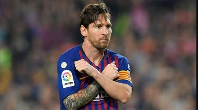 البرغوت ميسي يسجل رقماً قياسيا مع برشلونة الإسباني