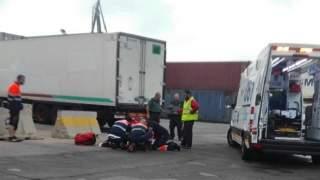 صادم.. مقتل شاب مغربي تحت عجلات شاحنة في ميناء مليلية