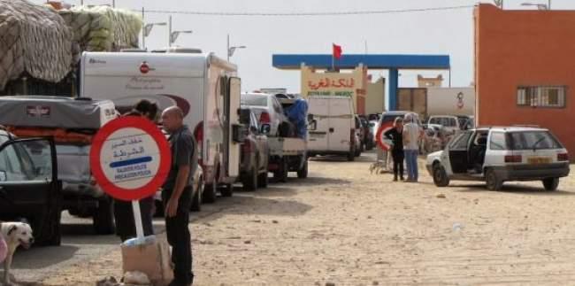 توقف حركة الشاحنات في الكركرات يشعل ازمة الخضر في موريتانيا