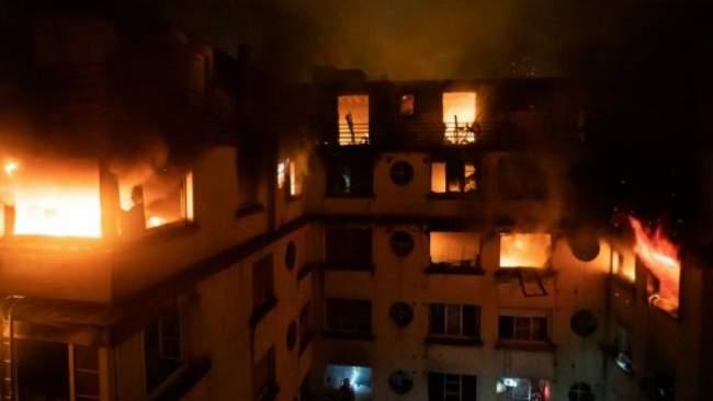 مغربية ضمن قتلى الحريق الذي شب بمبنى سكني بباريس