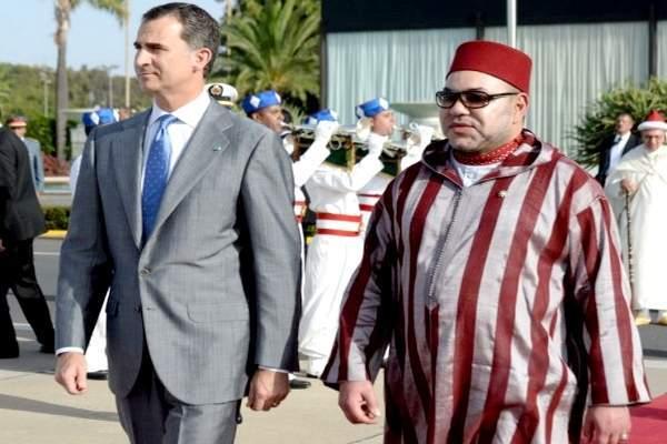 ملك إسبانيا يزور المغرب بعد غد الأربعاء