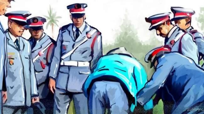 اعتقال موظف وعشيقته داخل مقر جماعة بشيشاوة