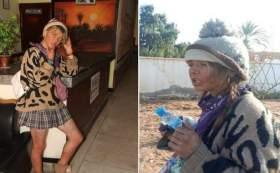 قصة الشابة البريطانية التي تعيش متشردة في مدينة طانطان