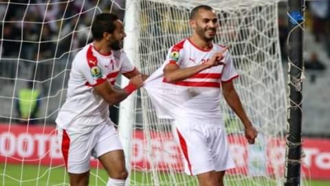 """هدف """"كوميدي"""" لخالد بوطيب في أول مباراة في الدوري المصري"""