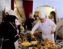 الشاف موحا يبهر الأمير هاري وزوجته بأكلات مغربية