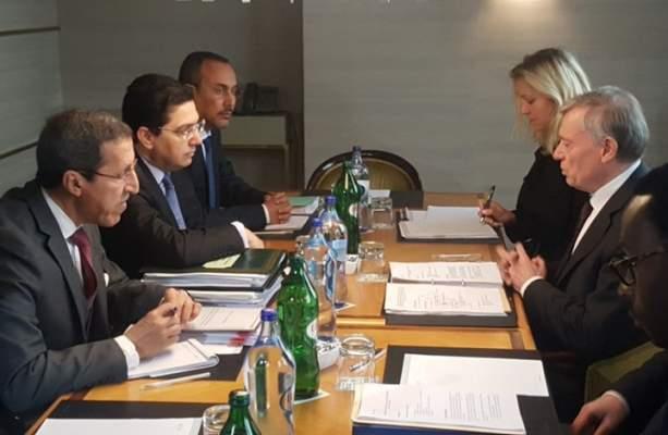 لقاء جنيف.. الخلفي يكشف تفاصيل اللقاءات الثنائية مع المبعوث الأممي حول الصحراء