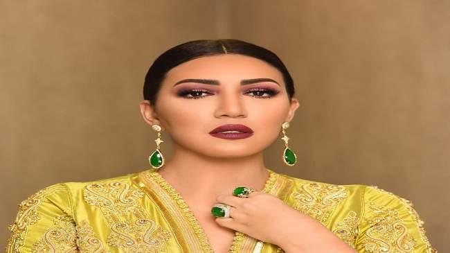 بالصور..أسماء المنور تتألق بالقفطان المغربي في أضخم برنامج بأبوظبي