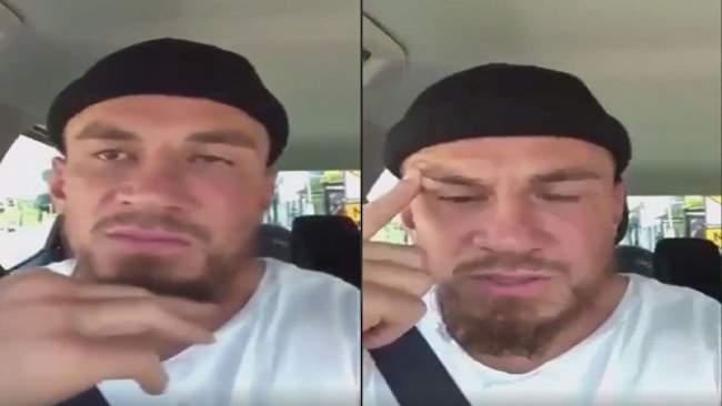 فيديو.. لاعب المنتخب النيوزيلندي يبكي حرقة على مقتل مصلين في حادث إرهابي
