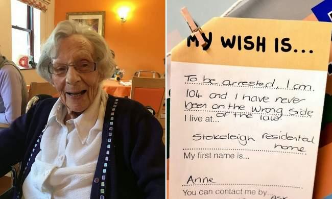 """سجن مسنة عمرها 104 سنوات بسبب """"رغبات على حبل الغسيل""""!"""