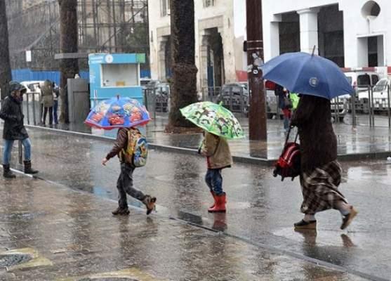 الأمطار تعود إلى المغرب في هذه المناطق
