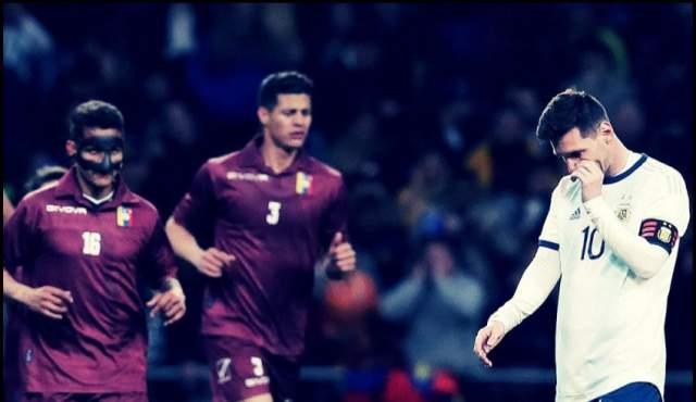 بحضور ميسي.. سقوطٌ مُدوٍ للأرجنتين ودياً أمام فينزويلا قبل مواجهة المغرب