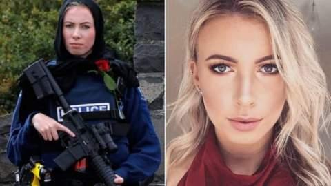 """من هي """"إيفانز"""" الشرطية النيوزيلندية التي اشعلت مواقع التواصل العالمية ؟"""