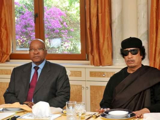 بعد اتهامه بالاستيلاء على 30 مليون دولار من أموال القذافي .. زوما يرد