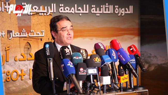 بنعتيق يفتتح الجامعة الربيعية ببني ملال ويؤكد: الملك له اهتمام خاص بالجالية المغربية