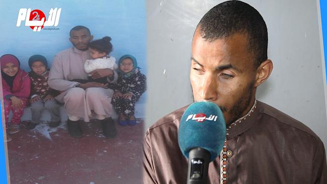 إمام كفيف أب لأربع بنات ..ثمان سنوات وأنا أطالب بالإمامة ولا أتلقى غير الوعود الكاذبة