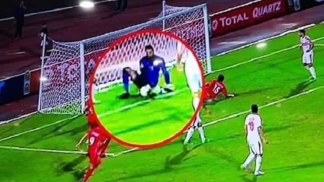 مخرجة مباراة الحسنية والزمالك تتوصل بقرار صادم بسبب الهدف غير المحتسب
