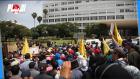 وقفة احتجاجية لعمال ستاريو أمام ولاية الرباط